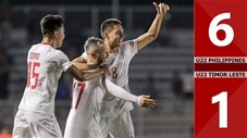 U22 Philippines 6-1 U22 Timor Leste(Sea games 30)