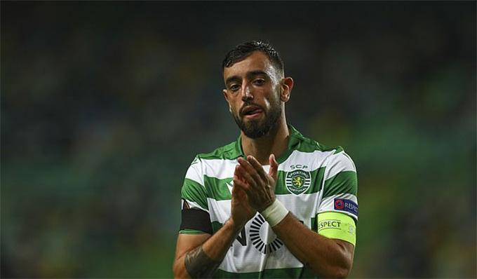 Tottenham sẽ không mua Bruno Fernandes