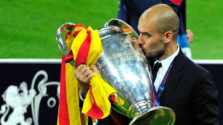 Pep đã phục hưng Barca sau thời Rijkaard