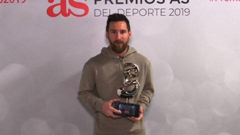 Messi nhận thêm danh hiệu cá nhân cao quý tại La Liga