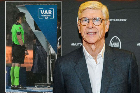 Wenger đã có những chia sẻ đầy lý thú về công nghệ VAR