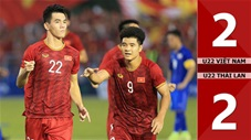 U22 Việt Nam 2-2 U22 Thái Lan(Sea Games 30)