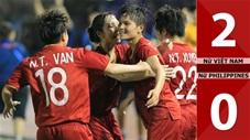 Nữ Việt Nam 2-0 Nữ Philippines(Sea Games 30)