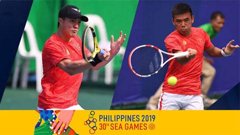 Quần vợt Việt Nam có HCV, HCB SEA Games đầu tiên trong lịch sử