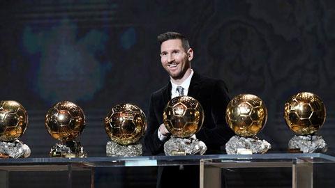 Messi từng 'tổn thương' khi bị Ronaldo san bằng số Quả bóng Vàng