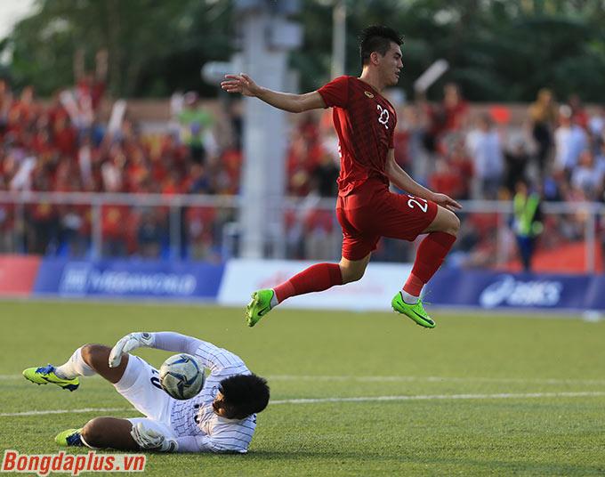 Tiến Linh đã tỏa sáng để giúp U22 Việt Nam loại U22 Thái Lan ở SEA Games
