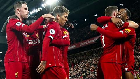 Liverpool lập kỷ lục bất bại hoành tráng nhất lịch sử CLB