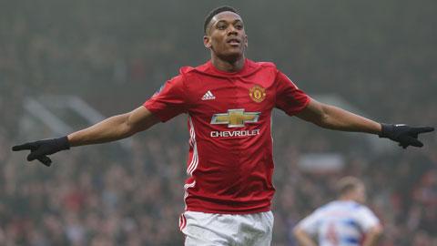 Martial: Tôi sẽ chứng minh mình là một trong những tiền đạo giỏi nhất Premier League
