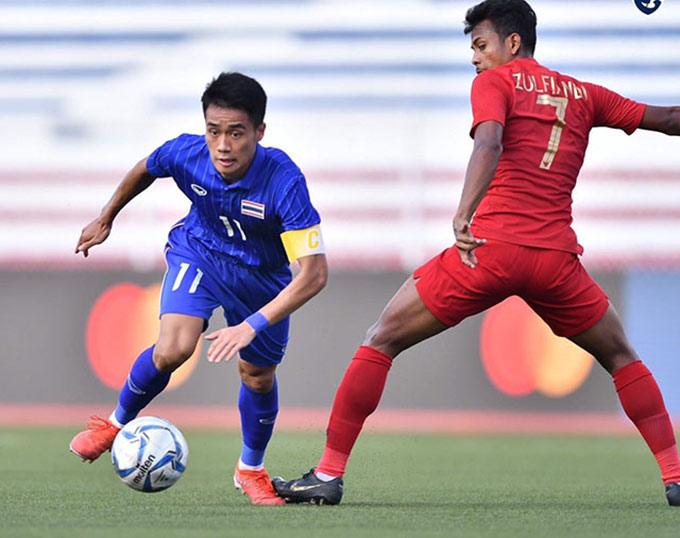Lứa cầu thủ Thái Lan hiện tại không quá nổi bật