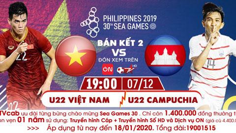 U22 Việt Nam sẽ thắng U22 Campuchia để giành quyền vào chung kết?