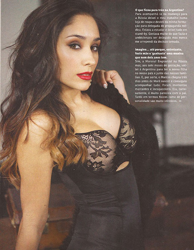 Eugenia Lusardo - vợ xinh của trung vệ Marcos Rojo