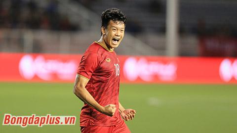 Thành Chung đang là trung vệ chơi ổn định nhất của U22 Việt Nam tại SEA Games 30