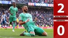 Real Madrid 2-0 Espanyol(Vòng 15 - La Liga 2019/20)