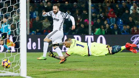 Napoli: Đừng trông đợi Higuain ghi bàn!