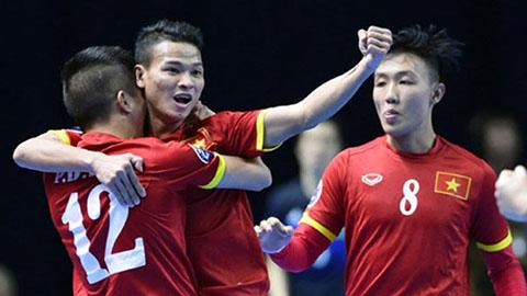 ĐT futsal Việt Nam rơi vào bảng dễ thở ở giải futsal châu Á 2020