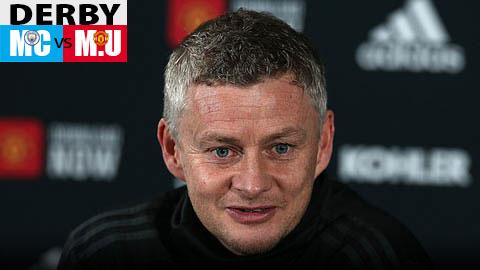 M.U bị xem thường ở derby Manchester khiến Solskjaer bức xúc