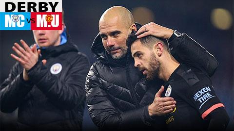 Guardiola 'nể' lịch sử hoành tránh của M.U trước derby Manchester