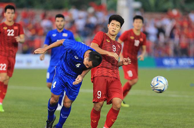 Đức Chinh cũng đang thể hiện phong độ cực cao khi ghi những bàn thắng quan trọng cho U22 Việt Nam kể từ đầu giải - Ảnh: Đức Cường