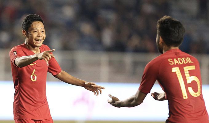 U22 Indonesia giành vé vào chung kết SEA Games 30 sau khi đánh bại U22 Myanmar - Ảnh: Đức Cường