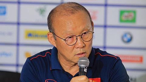 """HLV Park Hang Seo: """"Tôi sẽ lại thắng Indonesia ở chung kết SEA Games"""""""