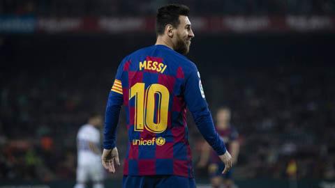 Messi nhận giải thưởng cá nhân tiếp theo sau Quả bóng Vàng 2019