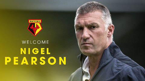Watford bổ nhiệm HLV Nigel Pearson