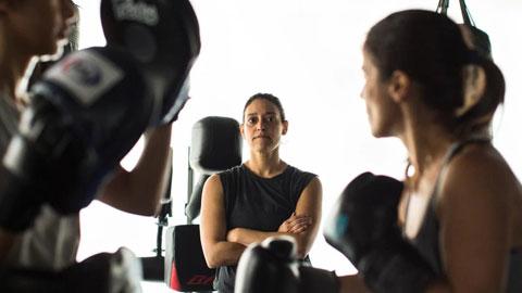 Halah  Alhamrani, chủ CLB boxing dành cho nữ giới thành lập  năm 2016