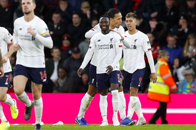 Những cầu thủ dự bị như Keita không hề khiến lối chơi của Liverpool kém trôi chảy