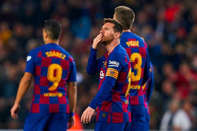 Messi đang chơi cực hay sau khi giành danh hiệu Quả bóng Vàng thứ 6