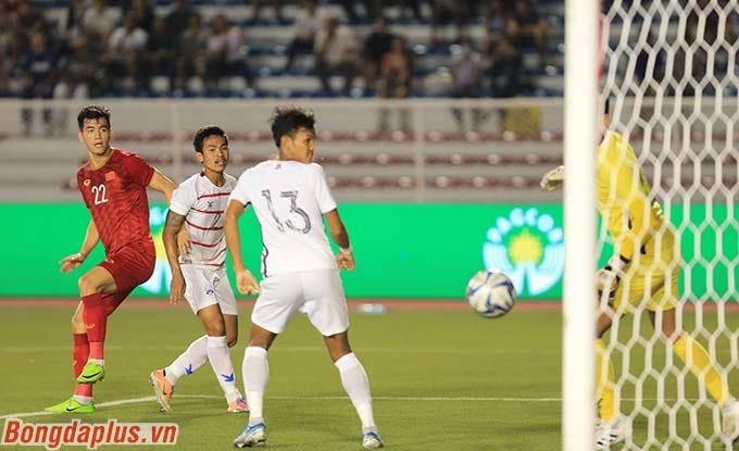 Đây đã là bàn thắng thứ 6 của Tiến Linh ở SEA Games lần này. Ngoài ra, đây cũng là lần đầu tiên bộ đôi tiền đạo Đức Chinh - Tiến Linh hỗ trợ nhau để tạo ra bàn thắng.