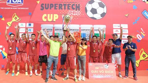 Hòa Bình Group vô địch Supertech Pro Cup 2019
