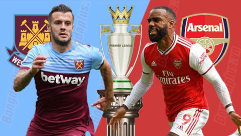 West Ham vs Arsenal, 03h00 ngày 10/12: Derby khốn khổ