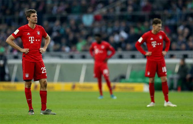 Bayern đã thua liền 2 trận ở Bundesliga