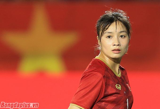 Đáng chú ý, đây là kỳ SEA Games đầu tiên mà Hoàng Thị Loan được thi đấu cho đội tuyển nữ Việt Nam - Ảnh: Đức Cường