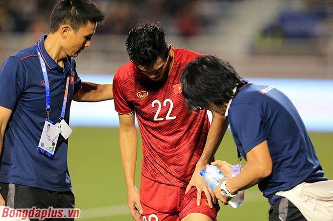 Tiến Linh đã sẵn sàng cho trận chung kết SEA Games - Ảnh: Đức Cường