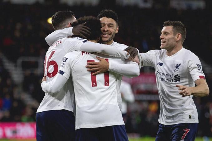Liverpool đang nắm mọi lợi thế để lên ngôi vô địch