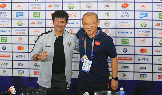 HLV Park Hang Seo khẳng định sẽ làm tất cả để giúp U22 Việt Nam giành HCV SEA Games 30 - Ảnh: Đức Cường