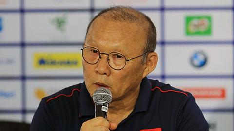 HLV Park Hang Seo: 'Việt Nam sẽ làm tất cả để giành HCV SEA Games'