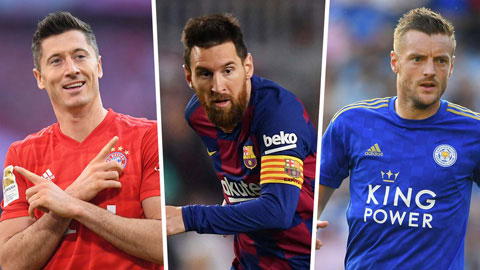Cuộc đua Chiếc giày vàng 2019/20: Lần đầu vào top 10 của Messi