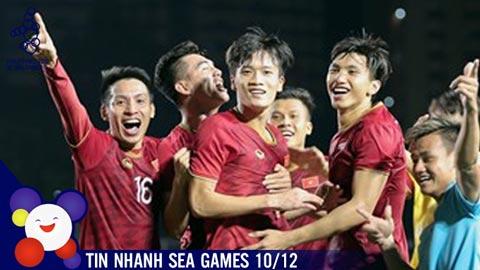Tin nhanh SEA Games 10/12: 60 năm chờ đợi, U22 Việt Nam quyết tâm giành HCV Sea Games