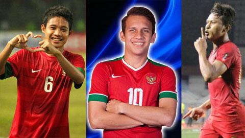 Bộ ba Dimas – Maulana – Osvaldo của Indonesia đang chơi thăng hoaẢnh: Đức Cường