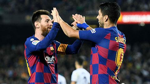 Messi và Suarez đang đạt phong độ cực cao