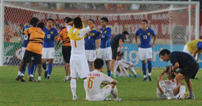 Trận chung kết SEA Games 2009 là điều mà người hâm mộ Việt Nam không muốn tái diễn