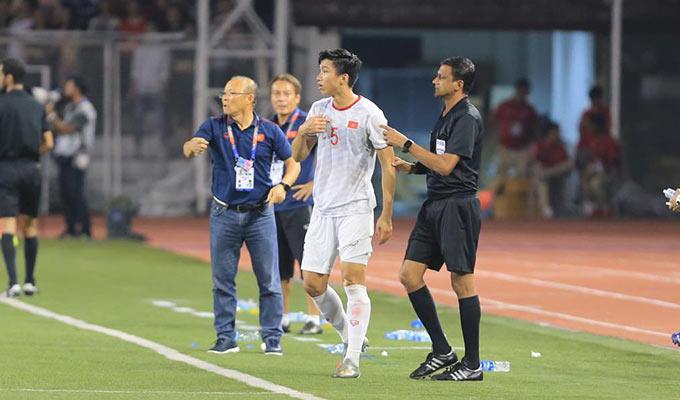 May mắn cho U22 Việt Nam là thời gian ngắn chơi thiếu người, U22 Indonesia đã không tận dụng cơ hội để ghi bàn thắng gỡ hoà