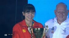 Nguyễn Thị Ánh Viên nhận giải Nữ VĐV hay nhất SEA Games 30