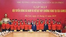 Các nhà vô địch SEA Games vào gặp mặt Thủ tướng Nguyễn Xuân Phúc