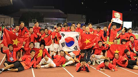Sau HCV SEA Games, U22 Việt Nam lập tức bắt tay chinh phục U23 châu Á 2020