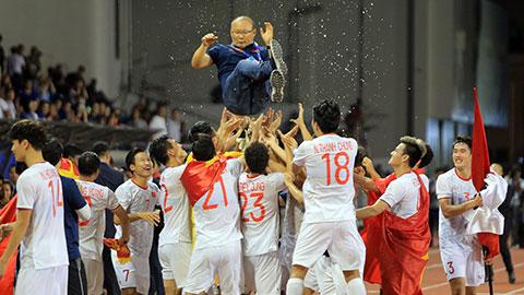 Do đâu ông Park Hang Seo thành công nhất trong lịch sử bóng đá Việt Nam?