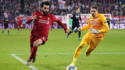 Salah kết thúc ở góc vô cùng hẹp bằng chân không thuận