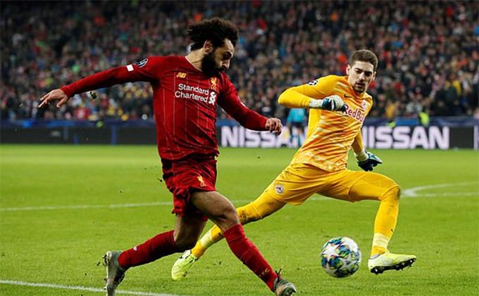 Salah ấn định thắng lợi cho Liverpool